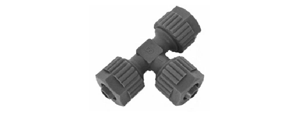 Tefen Barb Block Fittings