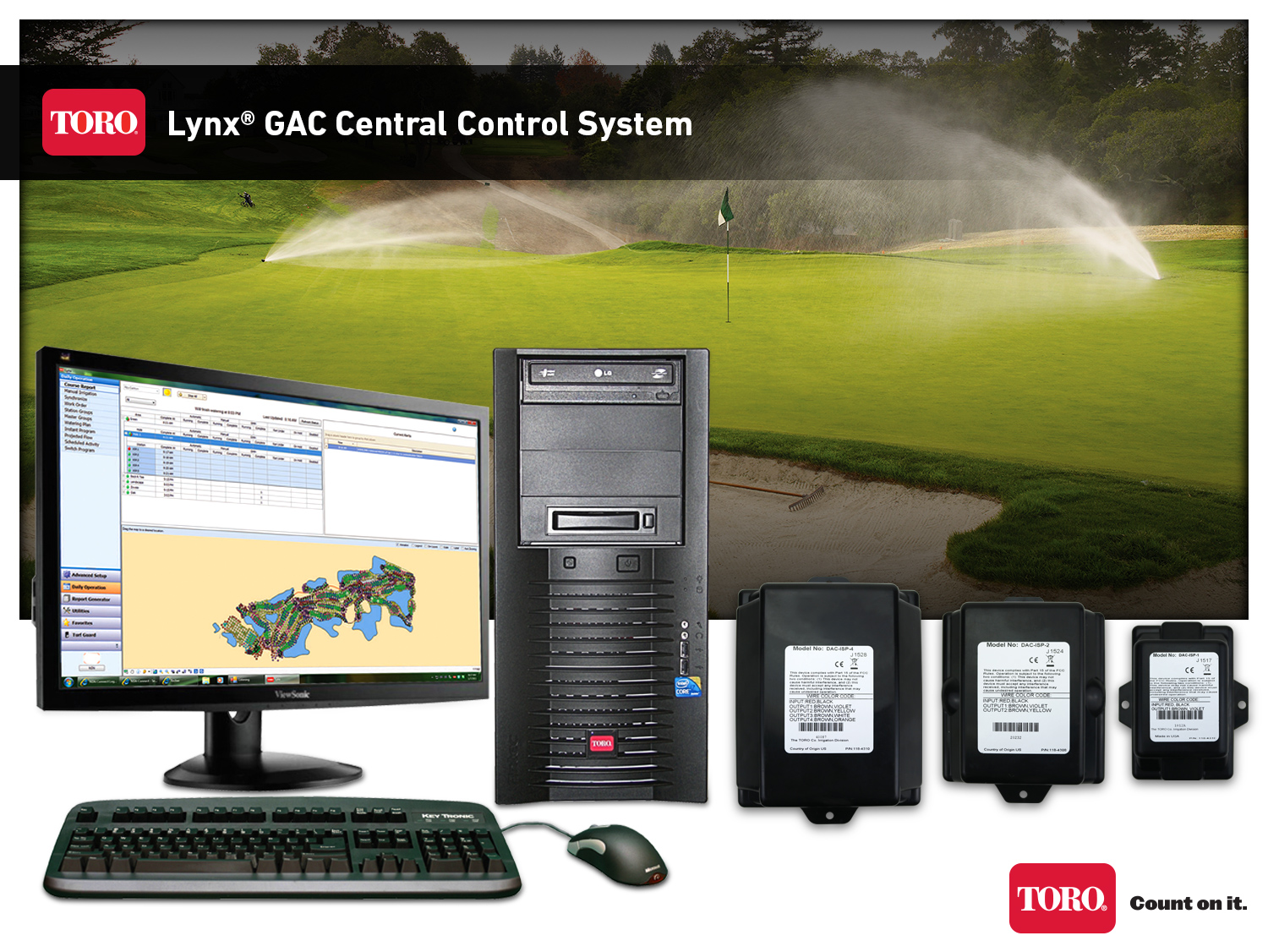 Easily upgrade older decoder systems with Toro Lynx® GAC