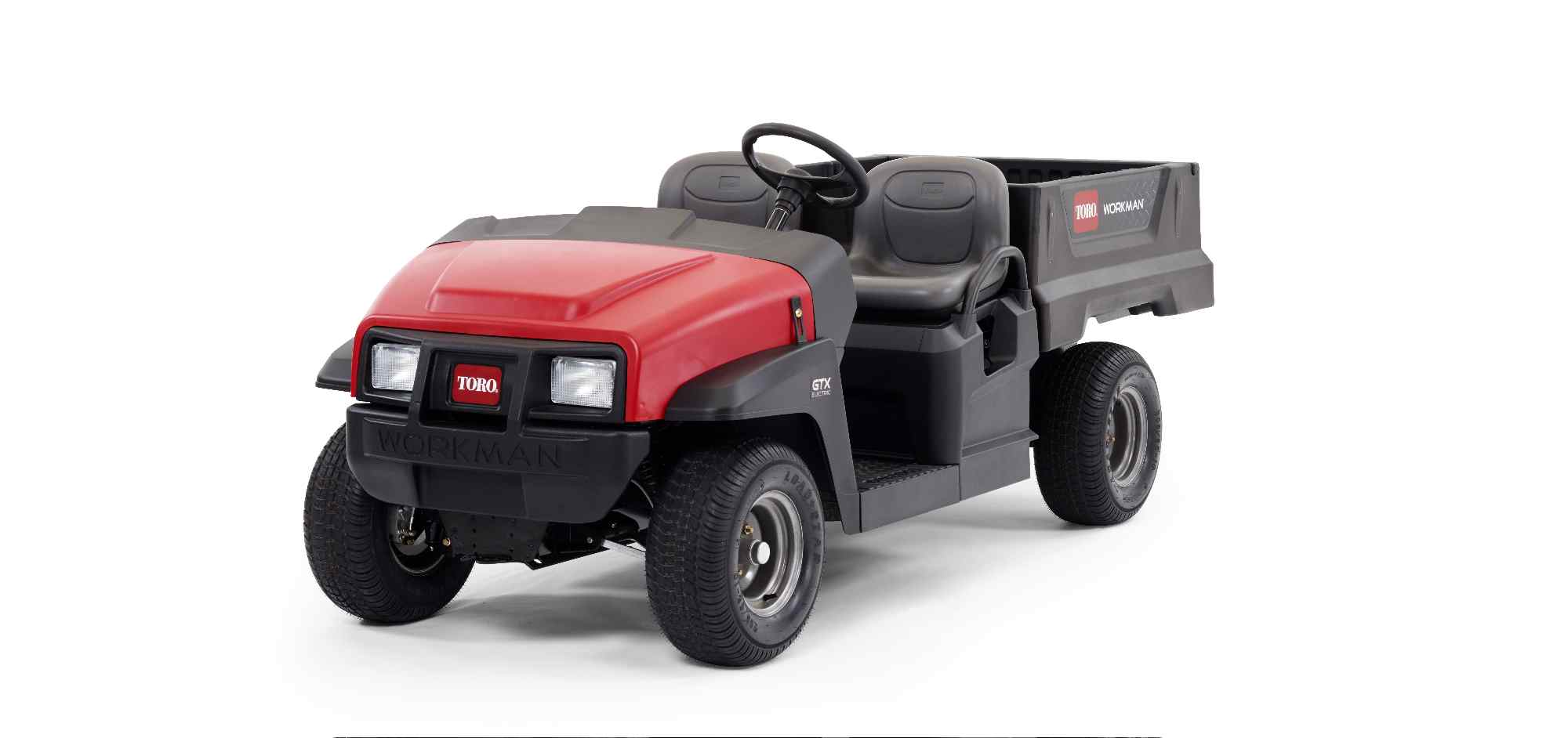 The all-new Toro Workman® GTX Utility Vehicle