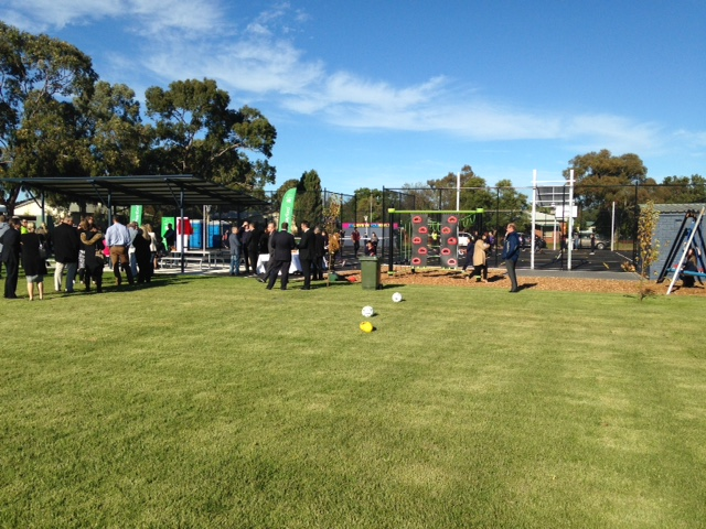 New sportshub opened at Secombe Street Reserve, SA