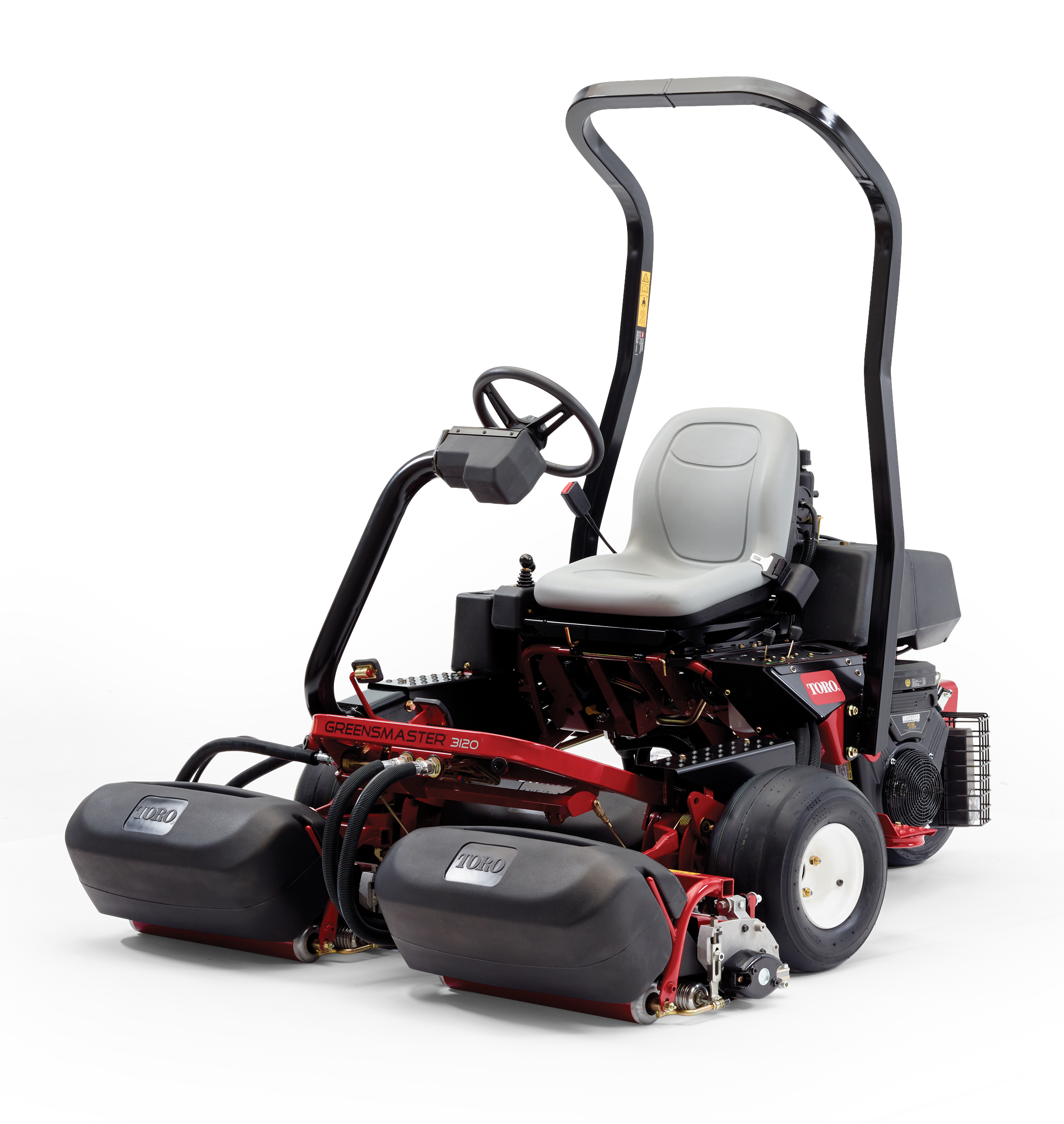 New Toro Greensmaster® 3120 Ride-on Mower is highly productive at an attractive price