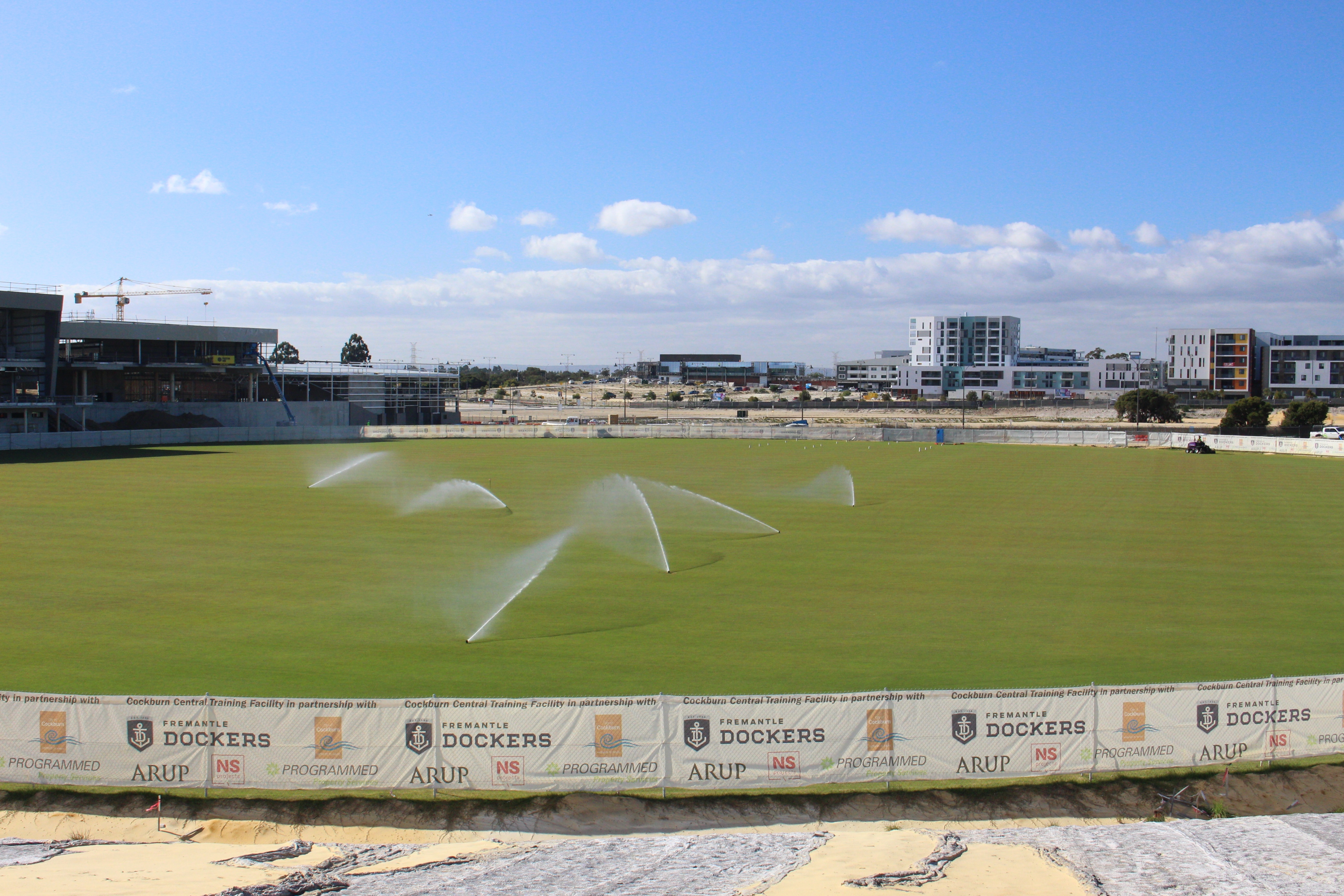 New State-of-the-Art Fremantle Dockers Training Facility  Trusts in Toro Irrigation and Equipment
