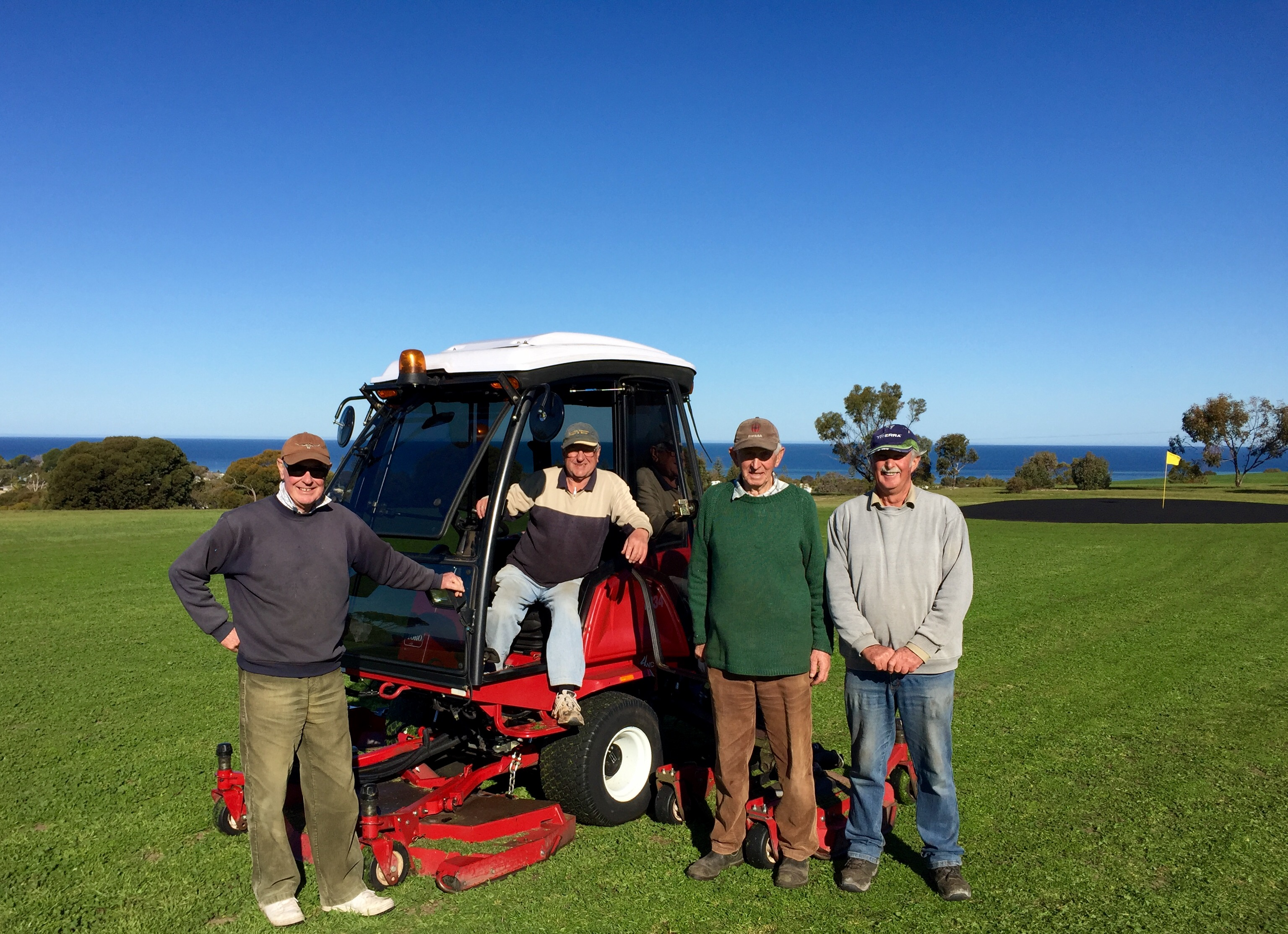Toro Groundsmaster 4010 mower finds a new life at Stansbury Golf Course