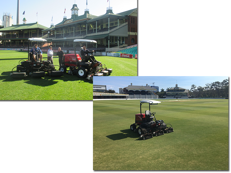 Toro's Reelmaster 5010-H Hybrid proves a winner in Australian sports stadiums