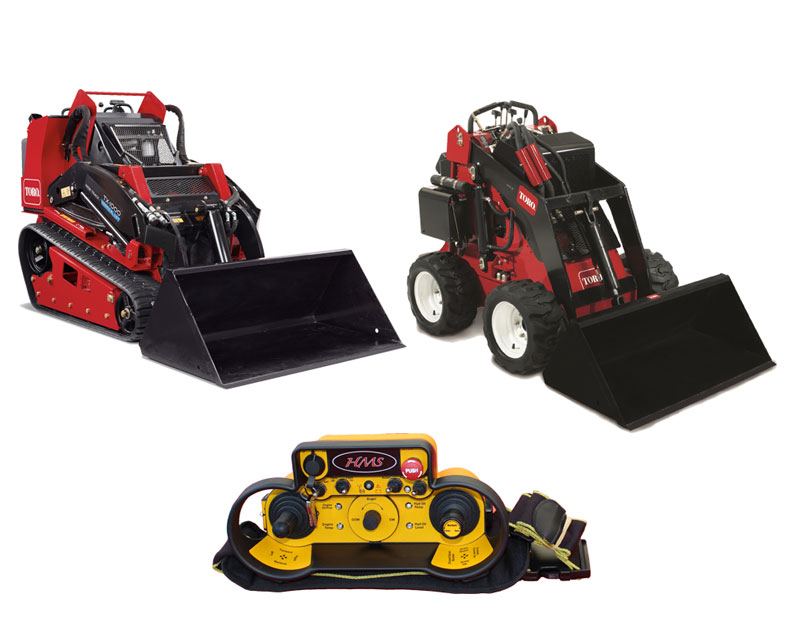 Remote Controlled Compact Utility Loaders
