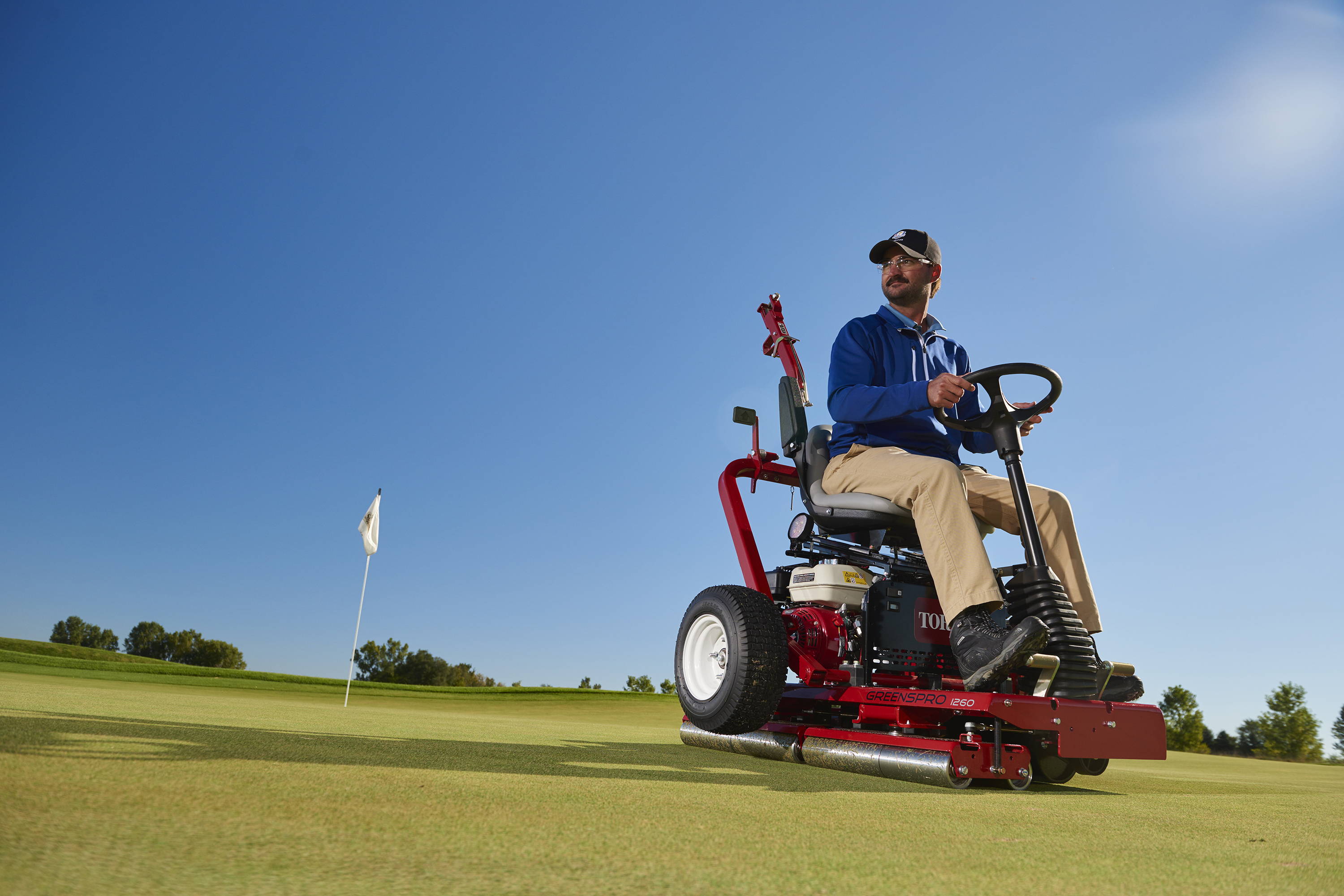 Toro Introduces New GreensPro® 1260
