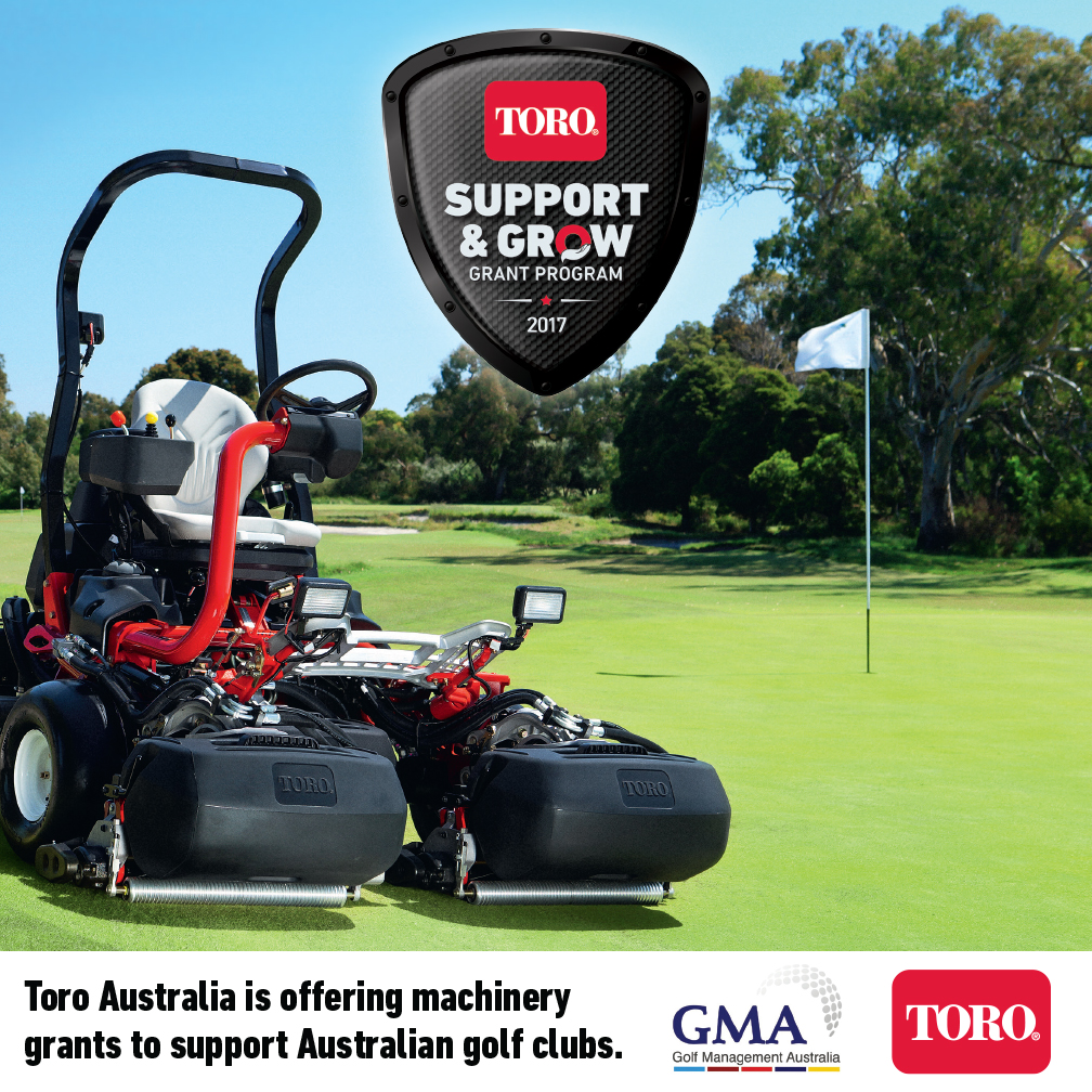 Toro Support & Grow Grant Program out now!