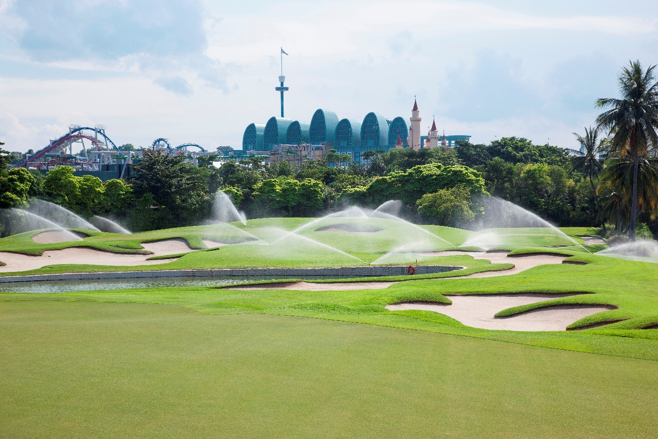 Sentosa Golf Club Invests in High-Quality Toro Irrigation Technology