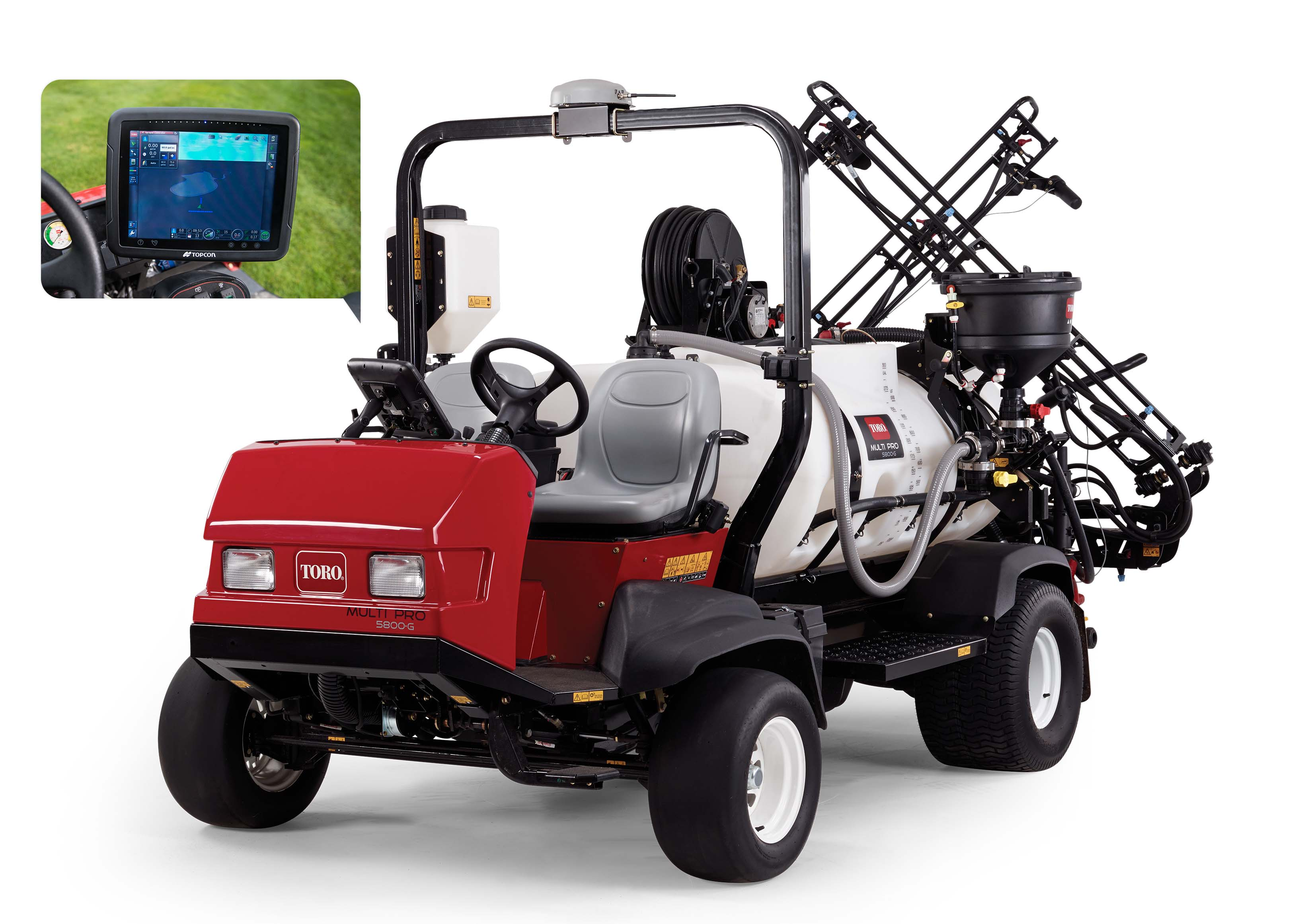 Innovative GeoLink™ technology now available on Toro's most popular sprayers