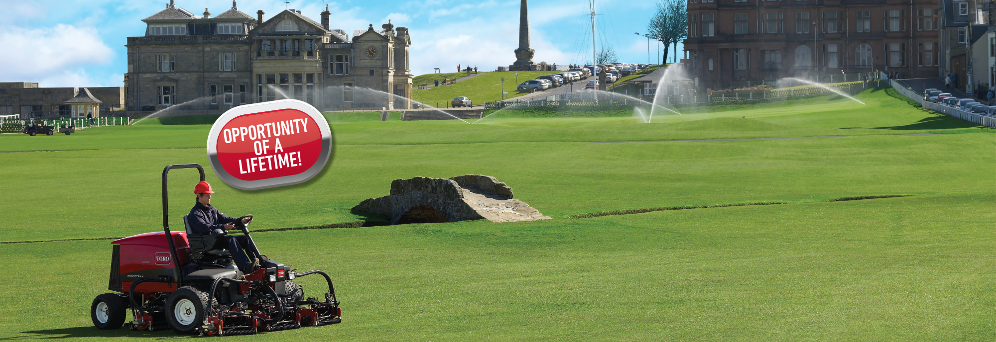 Win an internship at The Home of Golf®, St Andrews Links.