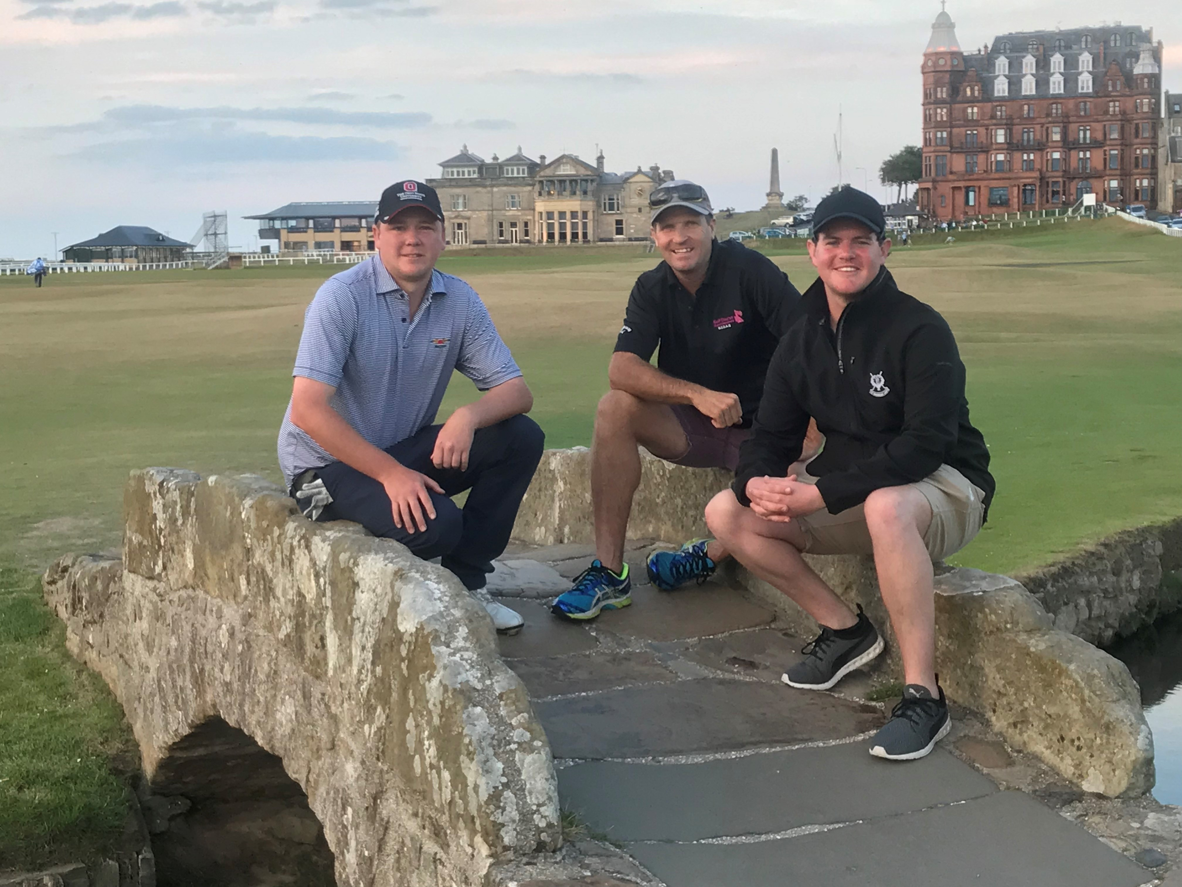 Trip of a lifetime for 3 Australian Assistant Superintendents to St Andrews Links in Scotland