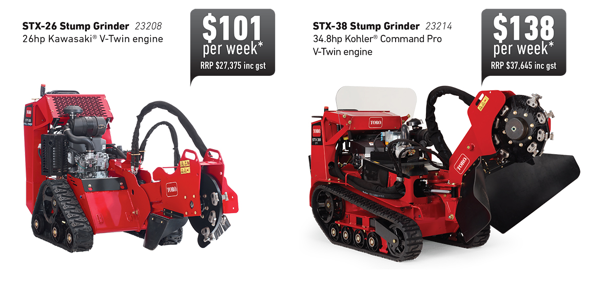 Interest Free On Toro Stump Grinders Promo Weekly Cost