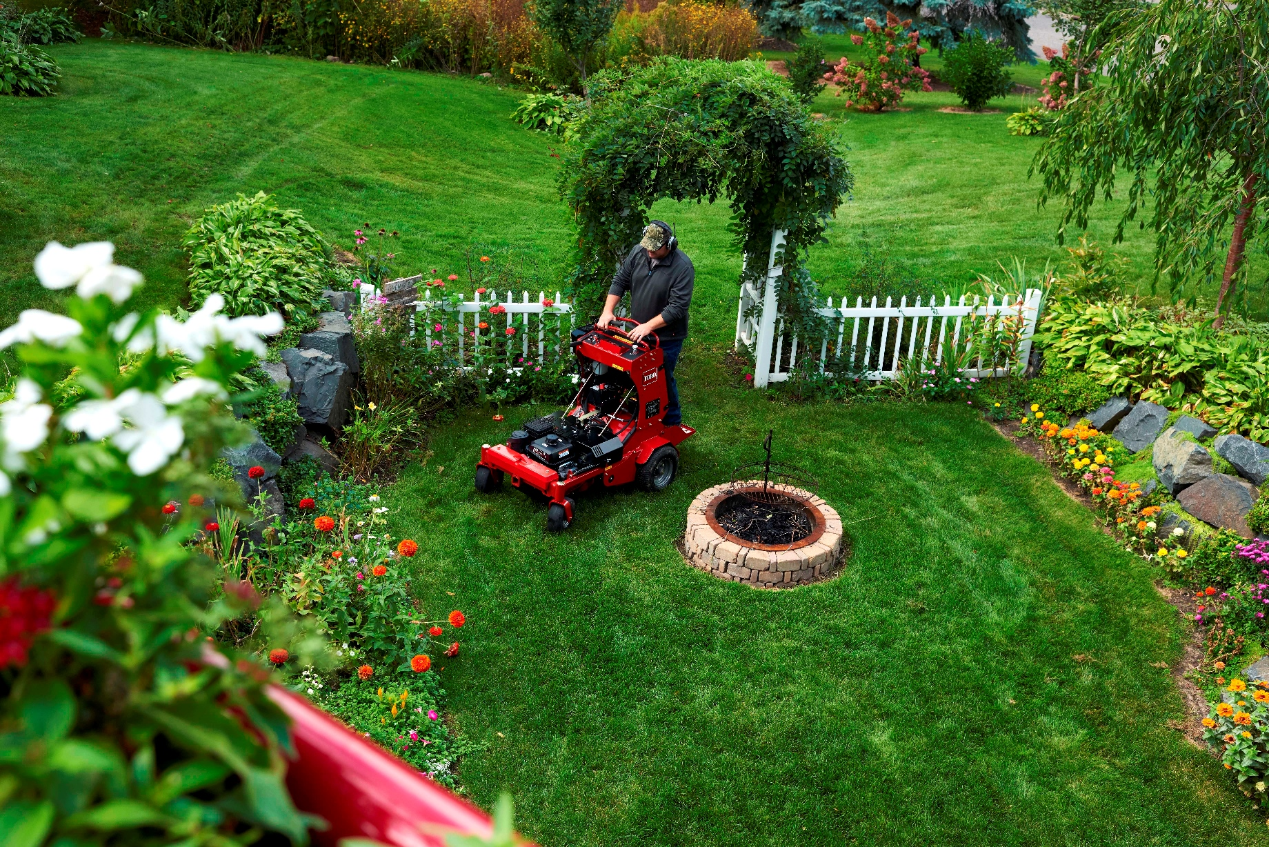 The new 24-Inch Toro Stand-On Aerator