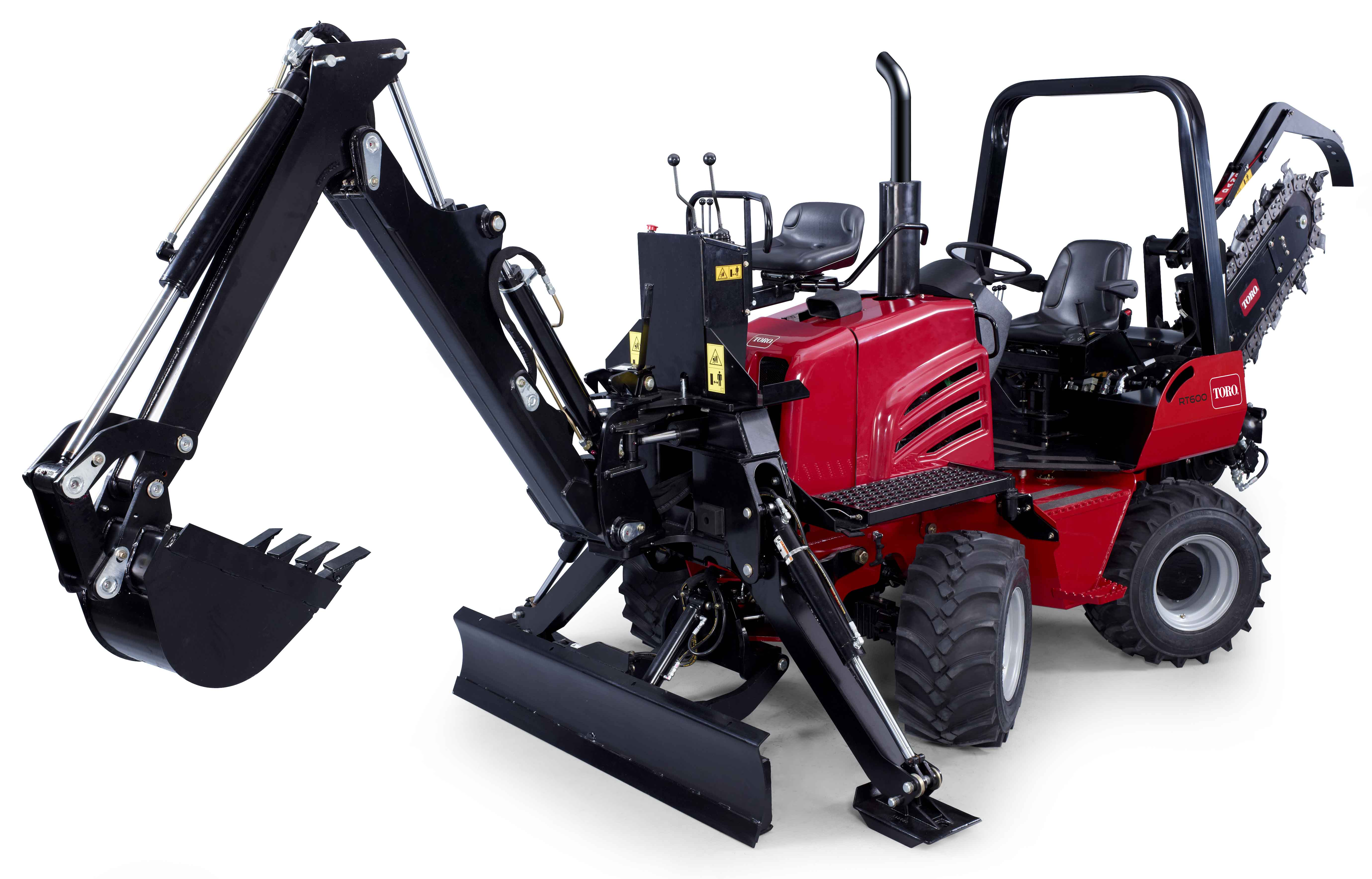 Toro expands trenching range of products
