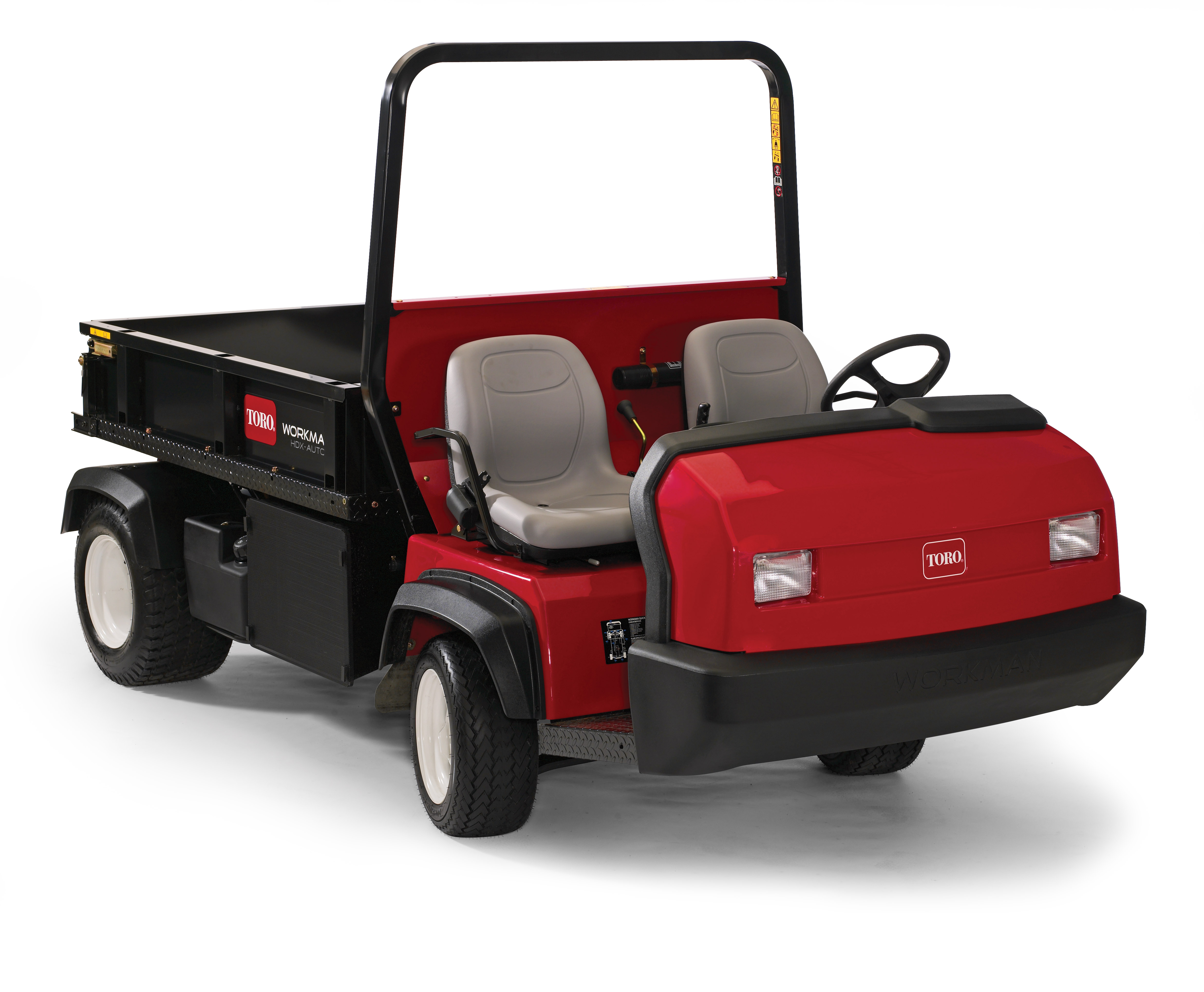 The New Toro Workman® HDX Auto, the Industry's First Heavy-Duty Utility Vehicle with Auto Transmissi