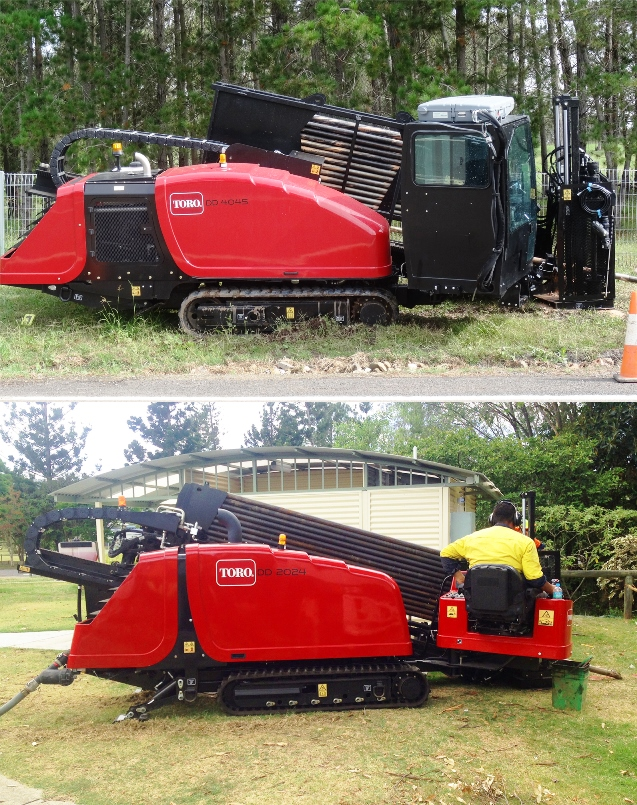 Toro® Directional Drills offer a lot of power for their size