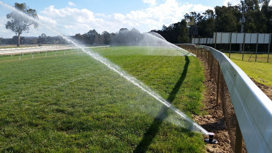 Wangaratta Race Course has backed a winner with new Toro® Irrigation system