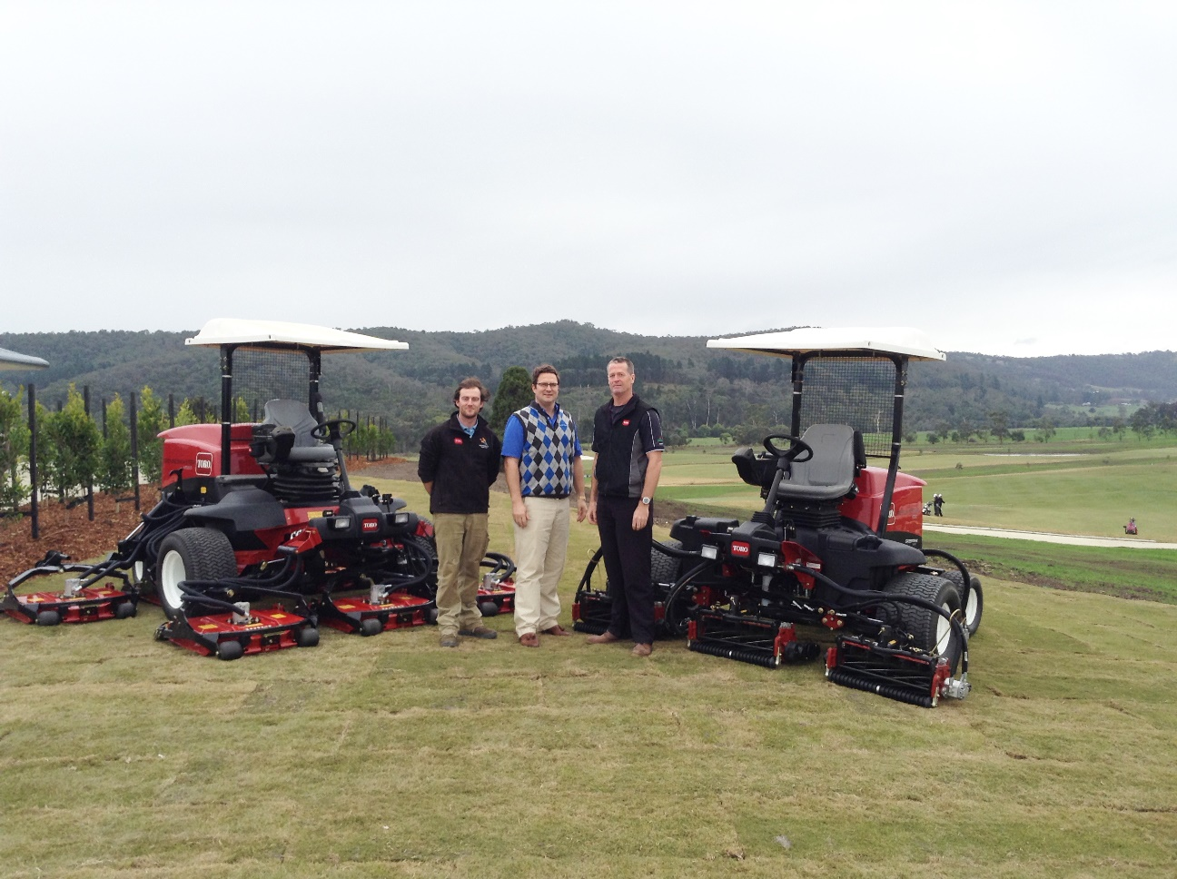 TORO partnership helps build stunning Yarra Valley course